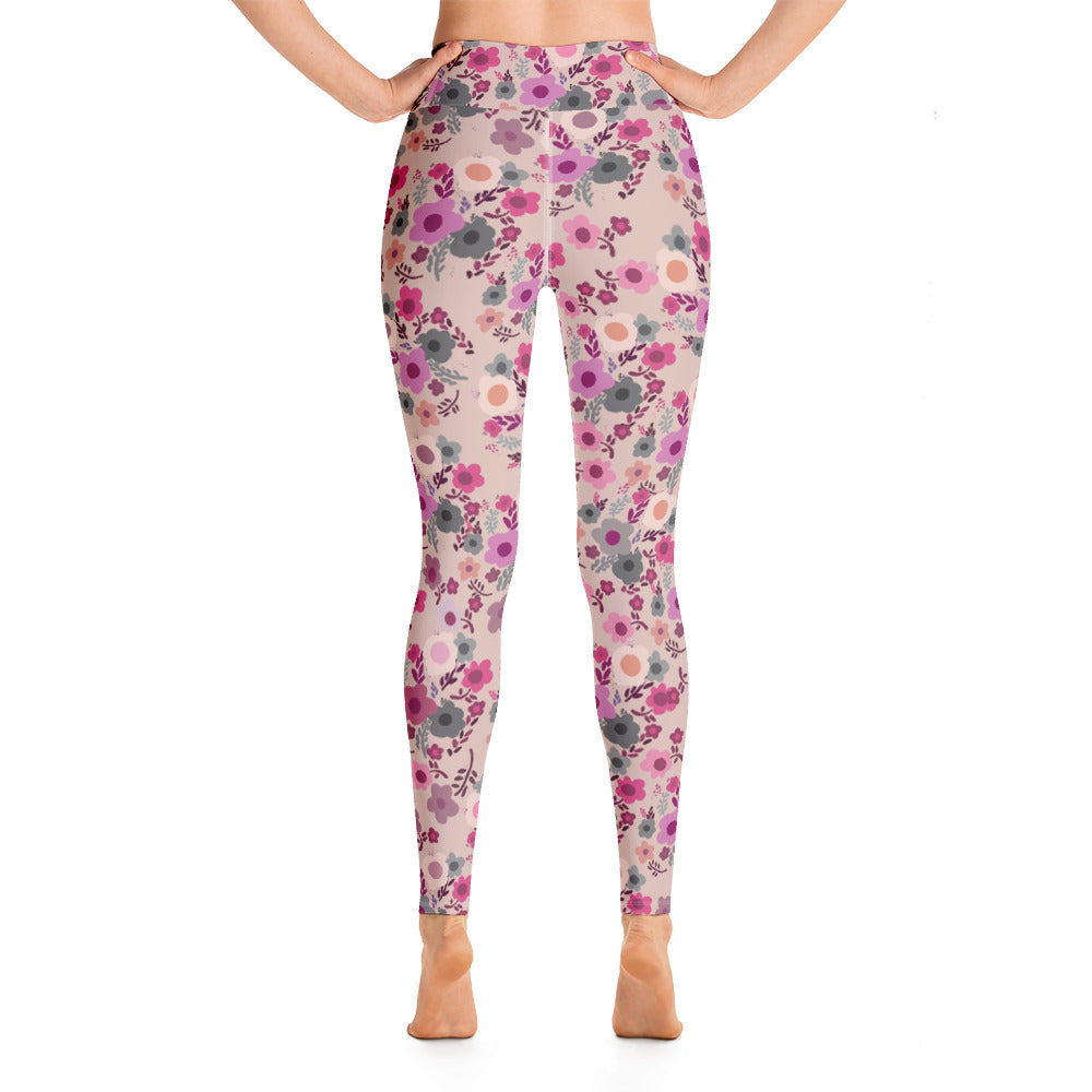 Playful Posies Yoga Leggings