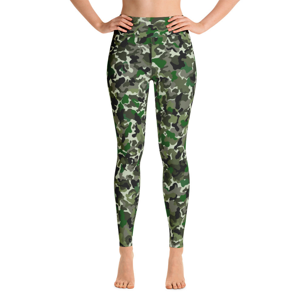 women yoga camouflage Yoga Leggings
