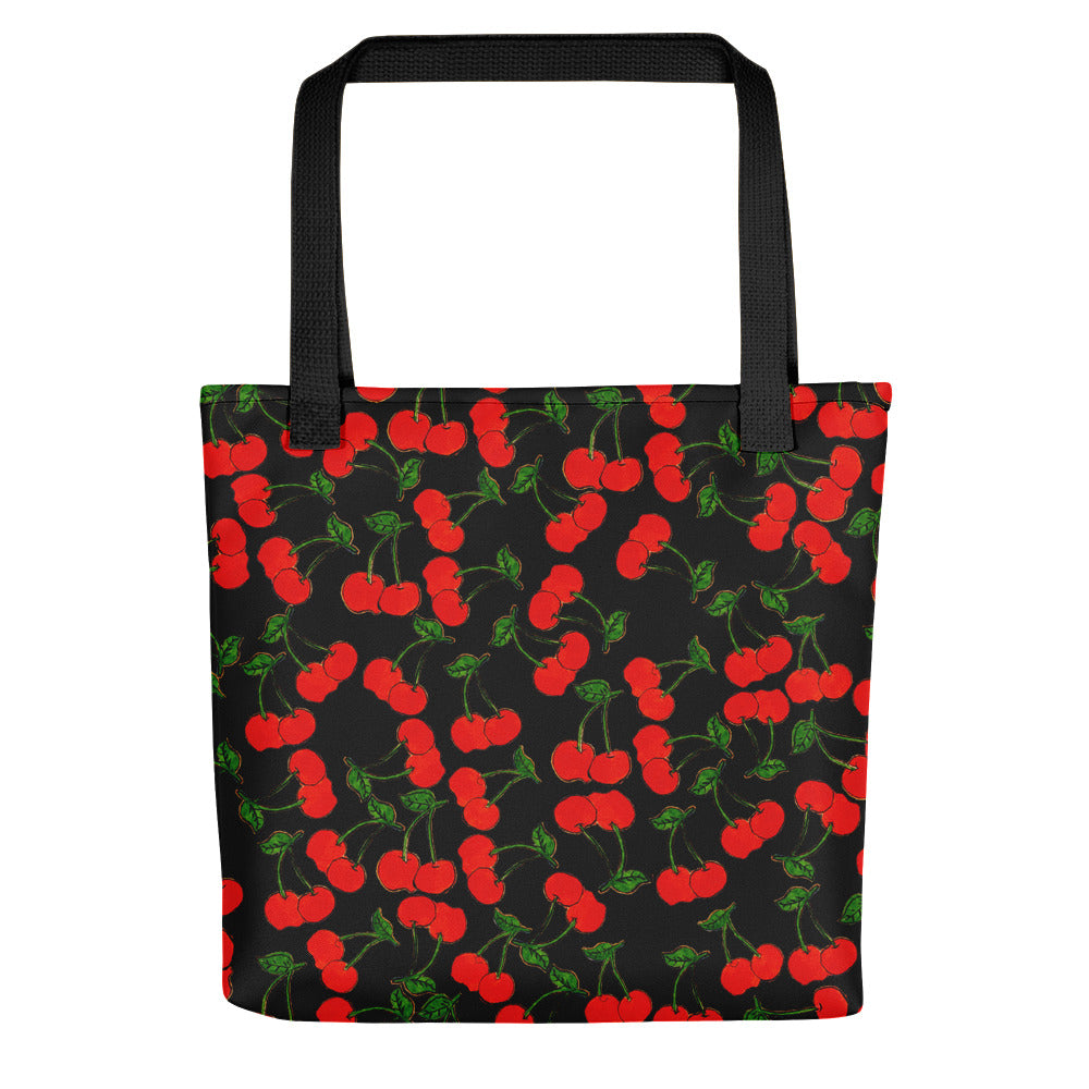 Black Cherries Tote