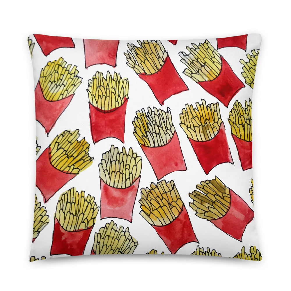 Large Fries Pillow