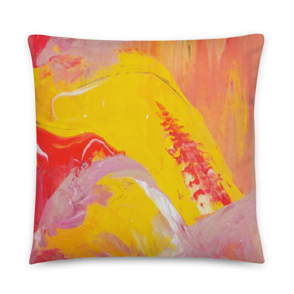 Double-sided Marble Pillow