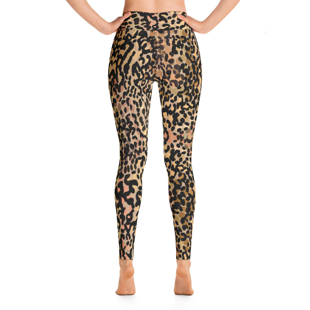 Spotted Leopard Yoga Leggings