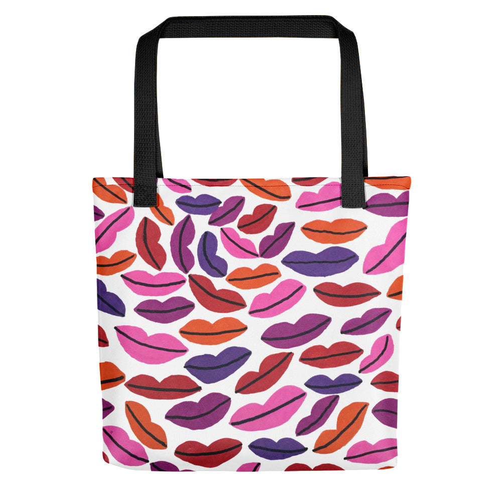Lip Tote Bag