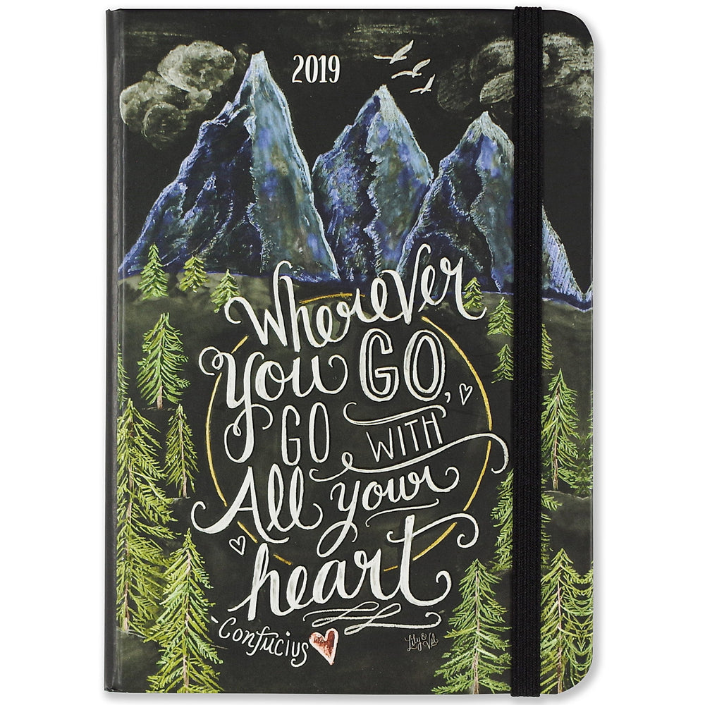 Wherever You Go.. 16-Month Weekly Planner 2018/19