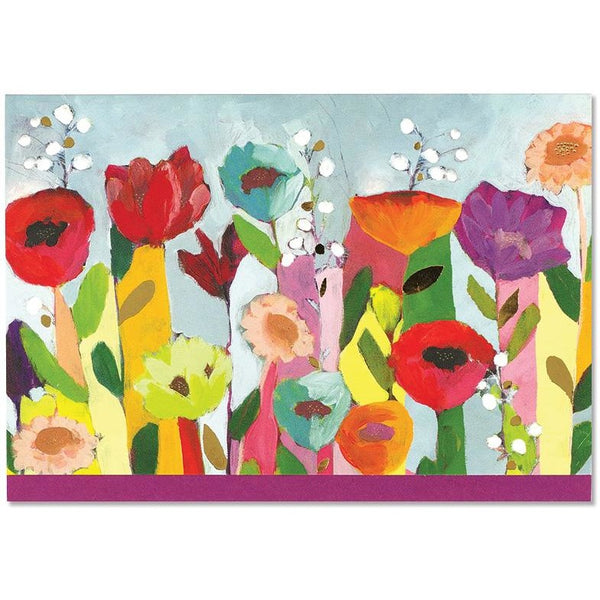 Floral Note Cards-Bright and colourful stationery set