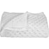 Lattice Design 100% Cotton Baby Blanket in White