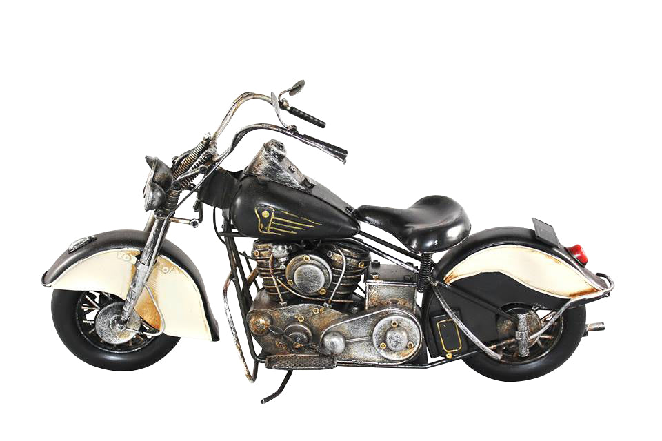 Black Chief Motorcycle Replica