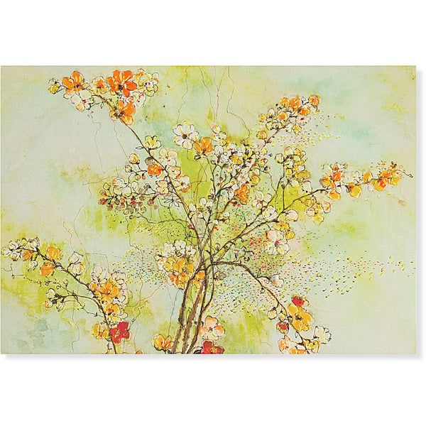 Dogwood Blossoms Note Cards-Pretty floral stationery