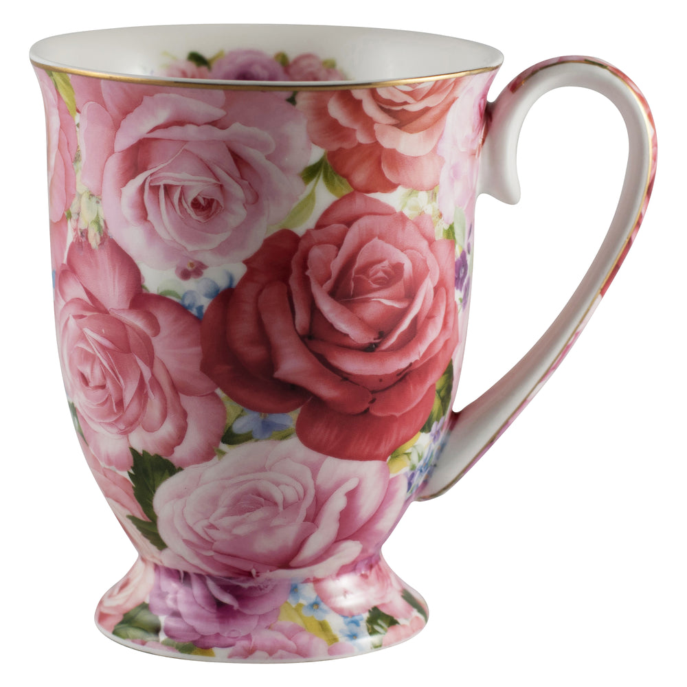 Rose Tea Cup - Fine Bone China