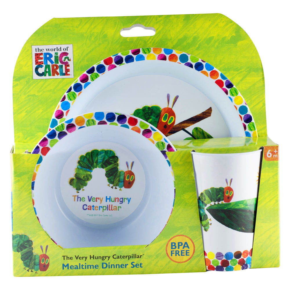 Very Hungry Caterpillar Dinner Set