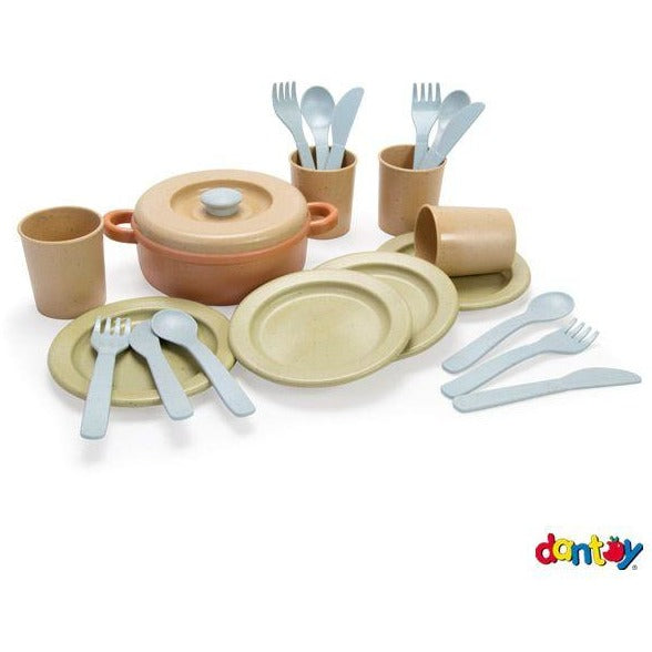Dantoy BIO Dinner Set 22 Pieces