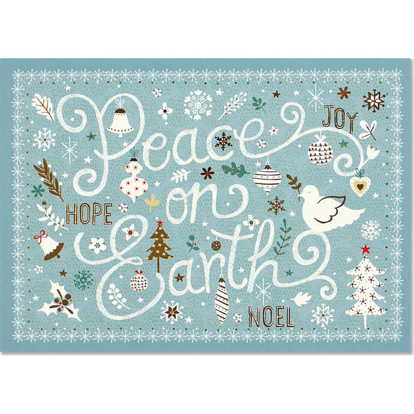 Peaceful Tidings Deluxe Holiday Boxed Cards