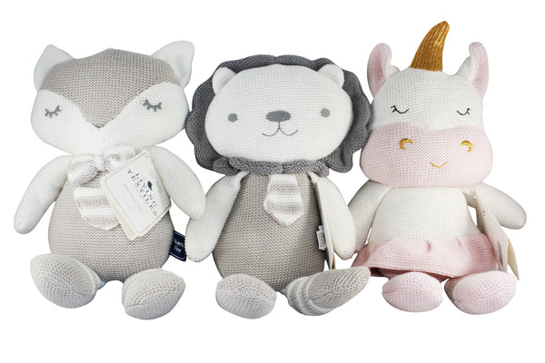 100% Cotton Baby Knitted Soft Toy