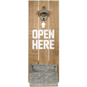 Gilbert Timber Wall Bottle Opener