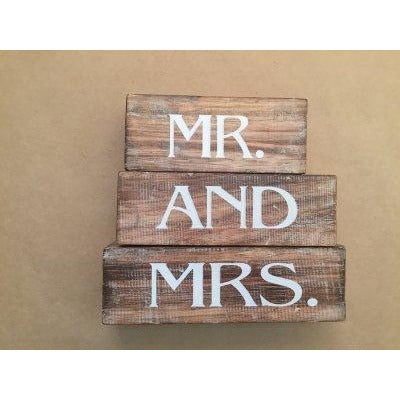 Mr and Mrs Wedding Gift