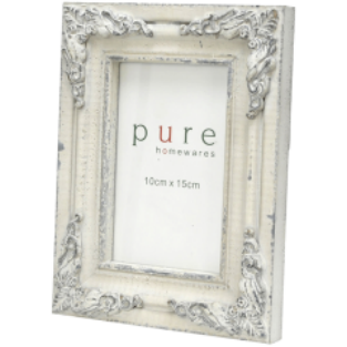 Timber Grey Filigree Frame (Small)