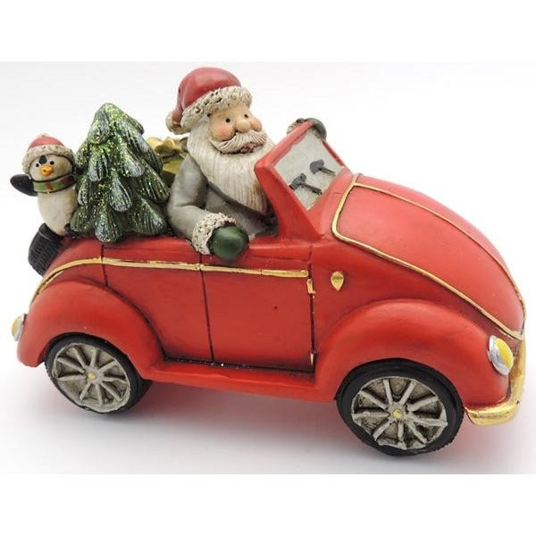 Santa's Big Red Car