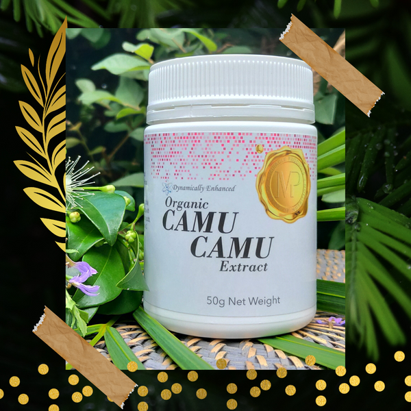 Camu Camu Extract: Certified Organic Natural Berry Vitamin C