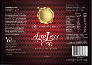 AgeLess C60 the Gateway to Infinity 100ml
