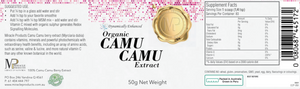Organic Camu Camu Extract (Click Size: 50g or 100g)