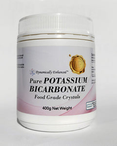Pure Potassium Bicarbonate (Click Size: 200g or 400g)