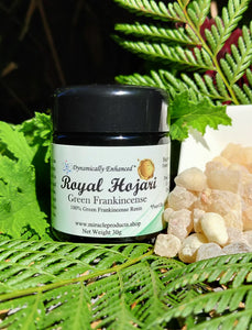 Royal Hojari Frankincense (30g) Uniquely medicinal edible resin direct from Oman