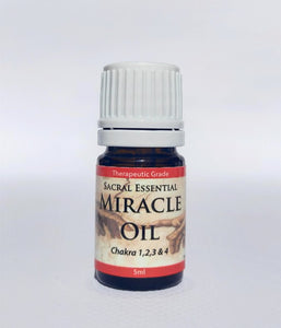 Essential Oils Sacral Miracle Oil (5ml)  7 oils blended to enhance lower chakra function