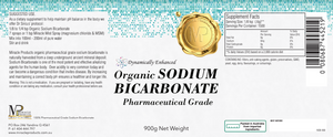 Sodium Bicarbonate Organic  (Click Size: 250g ,450g or 900g)