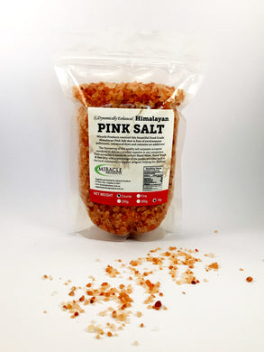 Himalayan Pink Salt – Coarse (Click Size: 500g or 1kg)