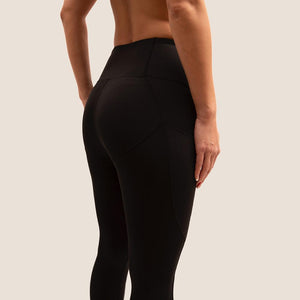 Black Flow 2 Freedom Exhale Cropped Period Proof Legging