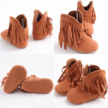 WEST Tassel Boot First Walker - Carrie Co Baby