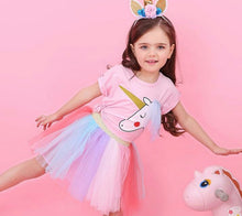 UNICORN PARTY Top+Skirt 2PC - Carrie Co Baby