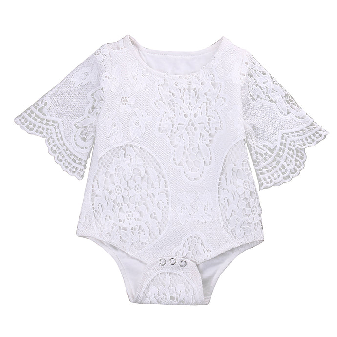 LACE Romper - Carrie Co Baby