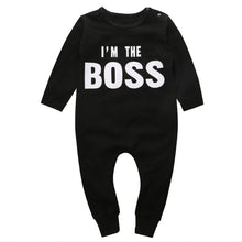 I'M THE BOSS Romper - Carrie Co Baby