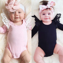 FLUTTER SLEEVE Romper - Carrie Co Baby