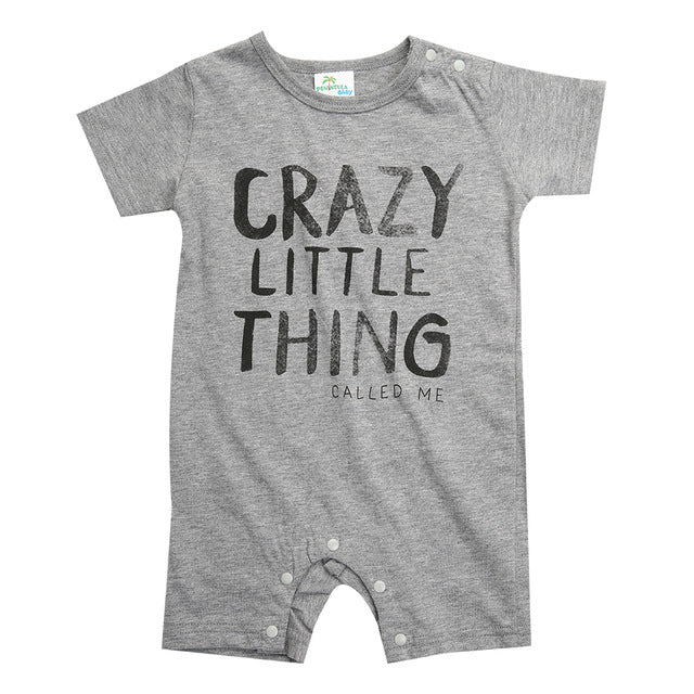CRAZY LITTLE THING Romper - Carrie Co Baby