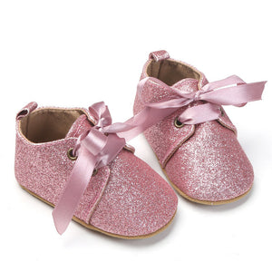 COCO Soft Sole Glitter Shoes - Carrie Co Baby