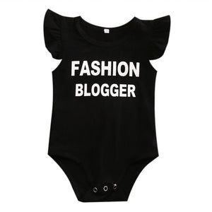 FASHION BLOGGER Romper - Carrie Co Baby