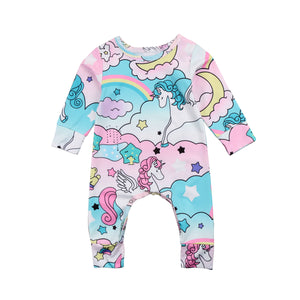 UNICORN Romper - Carrie Co Baby