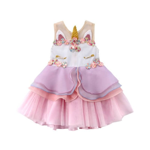 LILLI UNICORN Party dress - Carrie Co Baby