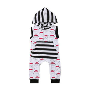 Santa Hooded Romper