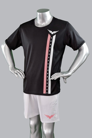 Cali Stars and Stripes Shirt - Peach/White Stripe - Men