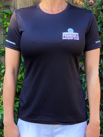 PRC Womens Athletic Fit Shirt - Black
