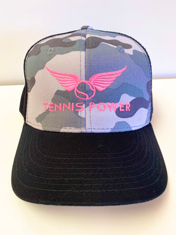 Crush It Cap - Camo/Hot Pink