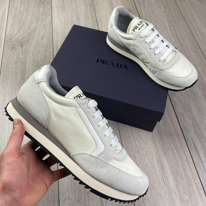 Prada Grey Sneakers