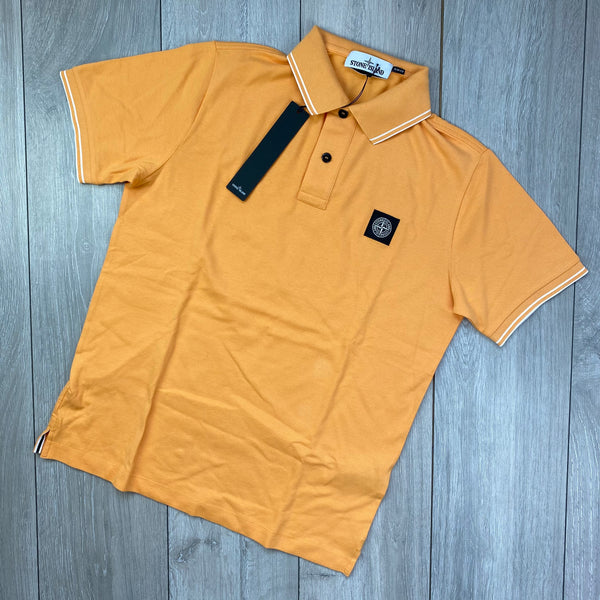 Slim Patch Polo Shirt