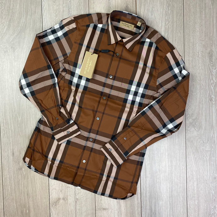 Burberry Brown Shirt