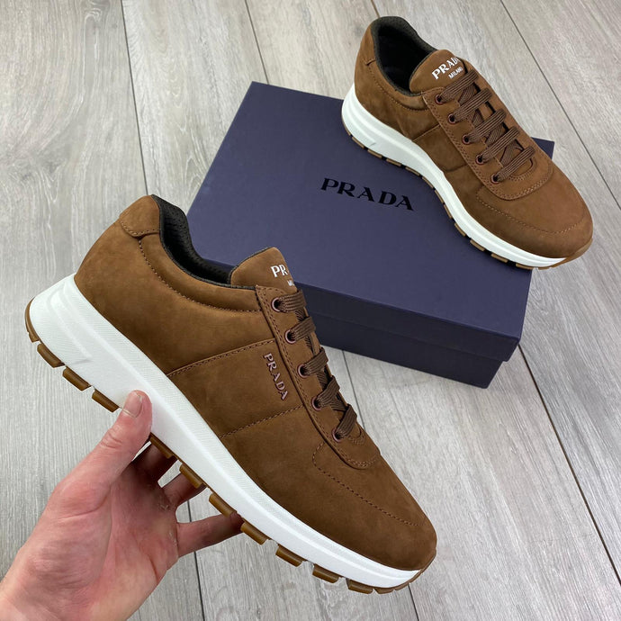 Prada Brown Sneakers