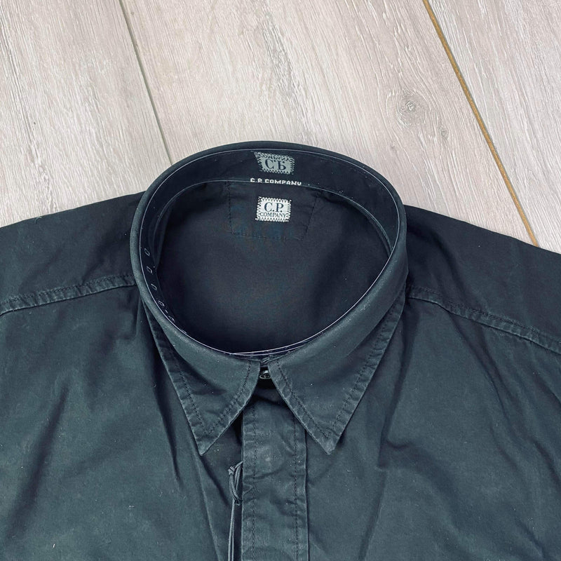 Lens Button Overshirt