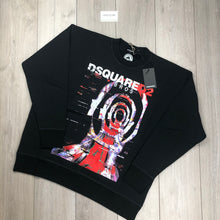 DSQUARED2 Black Sweatshirt (Oversized)